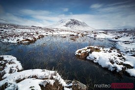 Buachaille etive mor Scotland UK