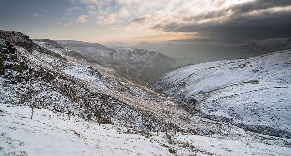 Winter's morning on Kinder