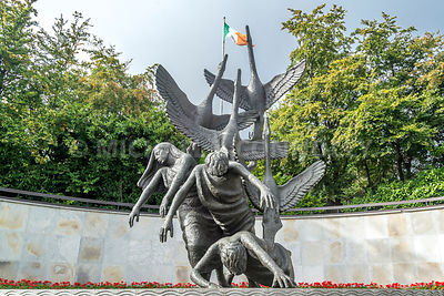 Children of Lir Sculpture, Garden of Remembrance (Horizontal)- Dublin, Ireland
