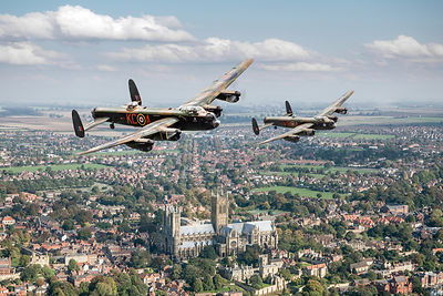 Two Lancasters pictures