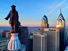 William Penn Statue Center City Philadelphia Pennsylvania