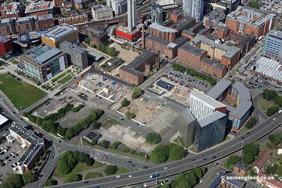 aerial photograph of the Parkway Gate development Manchester England UK.