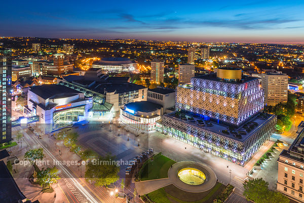 Birmingham at Night photos