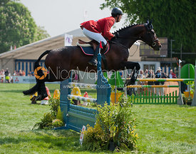 Kai Ruder and  Le Prince Des Bois - Show Jumping
