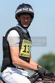Mark Todd and COOL TIDE, Fairfax & Favor Rockingham Horse Trials 2018