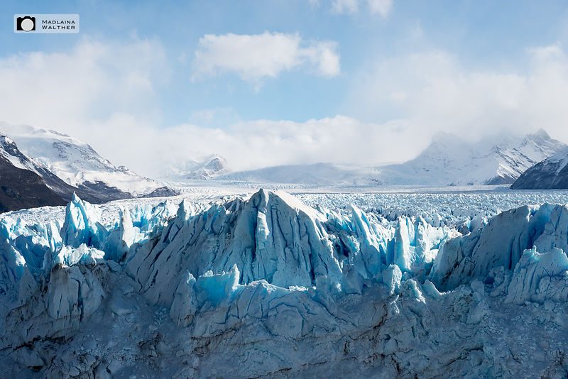 Perito Moreno Glacier, the park is a UNESCO World Natur Heritage