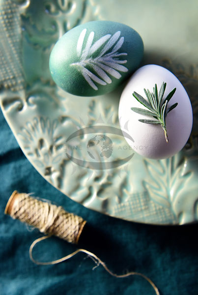 Dyeing easter eggs Photos