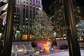 Rockefeller Center Christmas Tree, New York City, NYC 2017