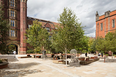 Armstrong Building and Boiler House at Newcastle University