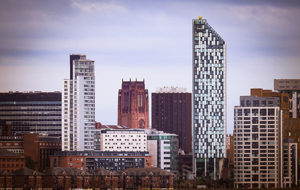 Liverpool Skyline: the Old and the New