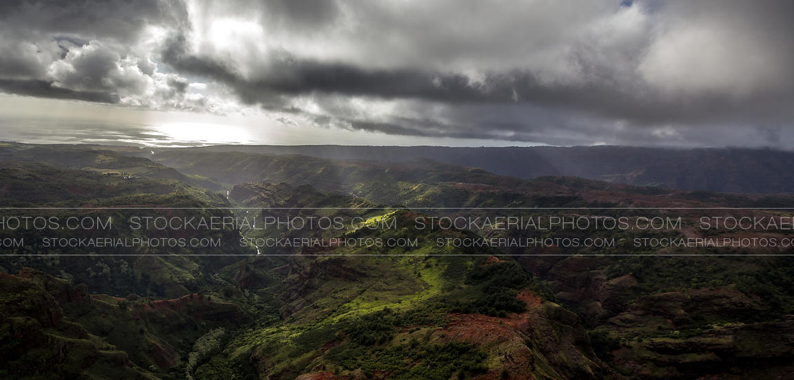 Green valleys of Kauai