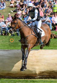 Abigail Boulton and TILSTON TIC TOC, cross country phase, Land Rover Burghley Horse Trials 2018