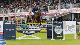 Werner Muff and DAIMLER - The Longines International Grand Prix of Ireland, Dublin Horse Show 2017