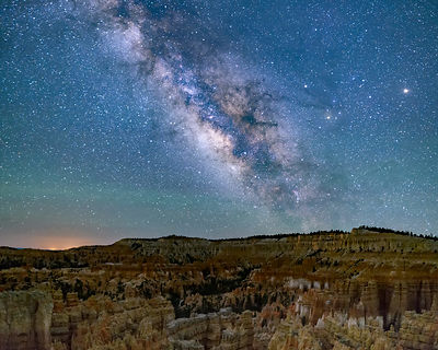 Midnight at Bryce Canyon