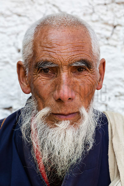 Portrait of a Bhutanese Man