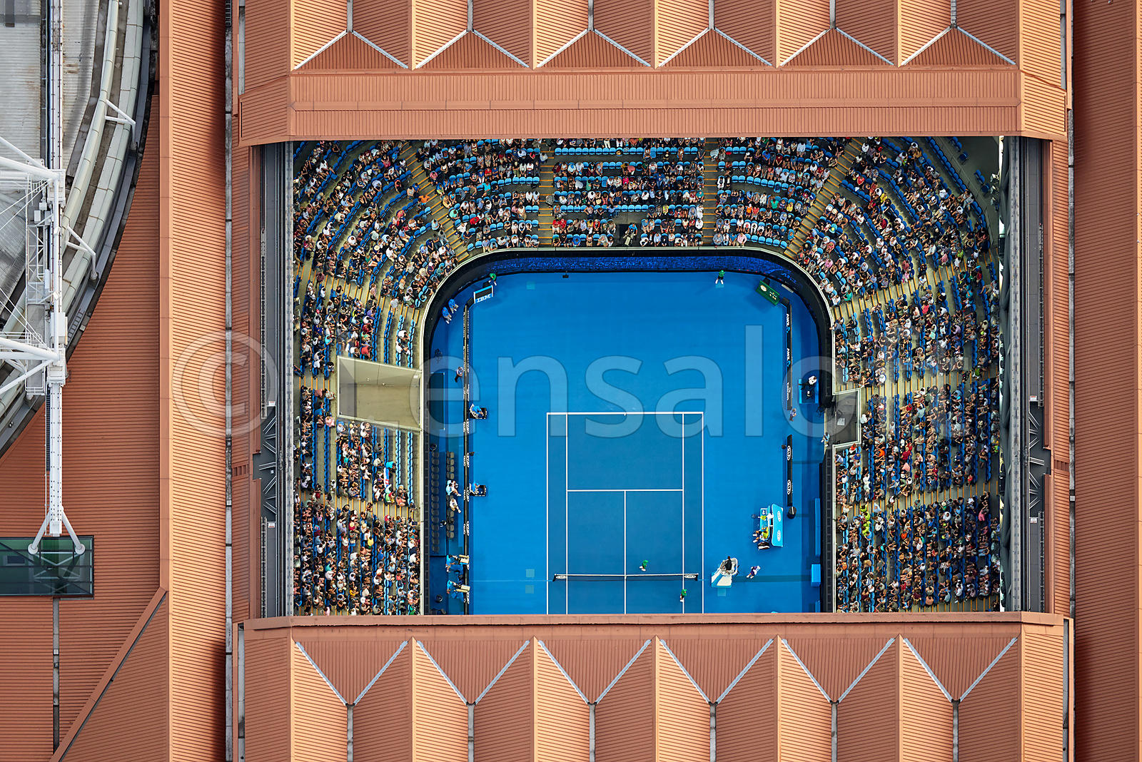 Australian Open - Copper Roof