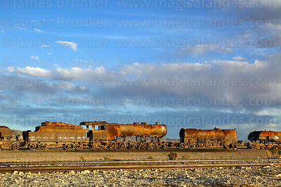 Uyuni Train Cemetery photographs