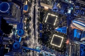 Aerial New York City Ground Zero