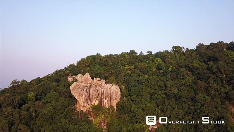 Viewpoint Drone Video Ko Tao, Ko Phangan District, Surat Thani, Thailand