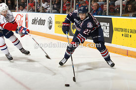 Oshawa Generals vs Hamilton Bulldogs January 24, 2016