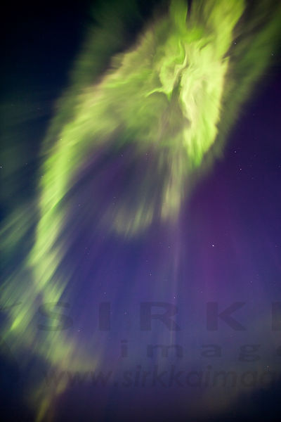 Northern Lights above Riisitunturi National Park