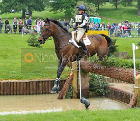 Imogen Gloag and BRENDONHILL DOUBLET - CCI***U25 - EquiTrek Bramham International Horse Trials 2016