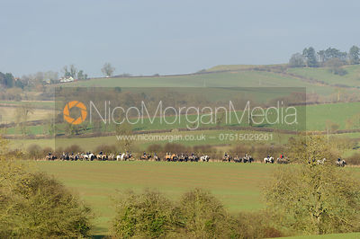 The Cottesmore Hunt at Burrough House 16/12 photos