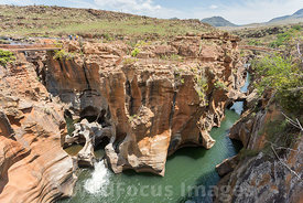 Bourke's Luck Potholes, Blyde River Canyon Nature Reserve, Panorama Route , South Africa; Landscape