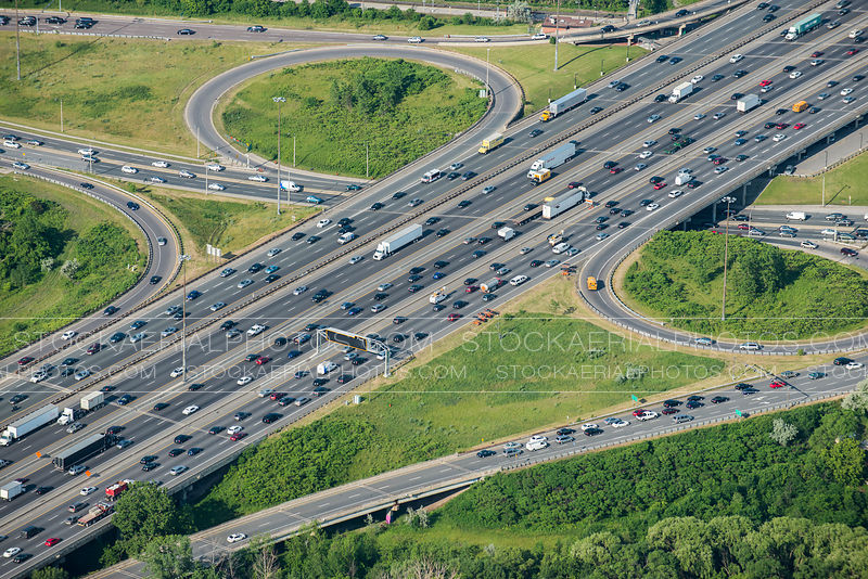 Highway 401 Aerial Photo