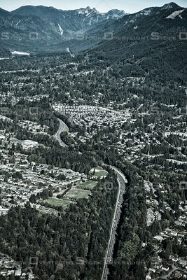 The Cut on the Upper Leverl Highway North Vancouver