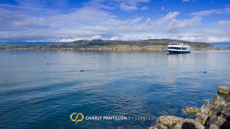 Lake Murten and the Mont Vully