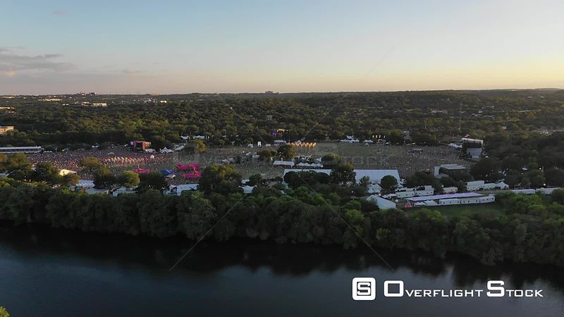 Drone Video Austin Texas USA
