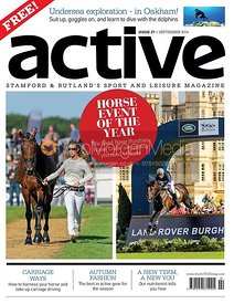 Dee Hankey (CHEQUERS PLAYBOY) and Jock Paget (CLIFTON PROMISE) - Active Magazine September 2014.