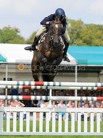 Clare Lewis and SIDNIFICANT - show jumping phase, Burghley Horse Trials 2014.