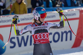 AUDI FIS SKI WORLD CUP 2018/19.St. Moritz (SUI).2nd Ladies' Super-G