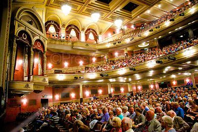 Audience in The Festival Theatre Auditorium, Edinburgh