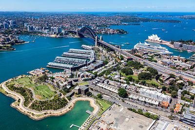 The Rocks and Sydney Harbour
