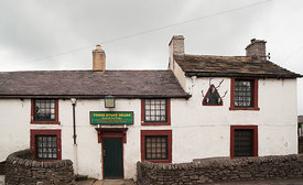 Three Stags' Heads pub in Wardlow Mires