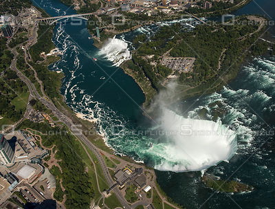 Niagara Falls Ontario and New York
