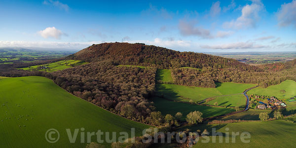 The Wrekin (Panorama)