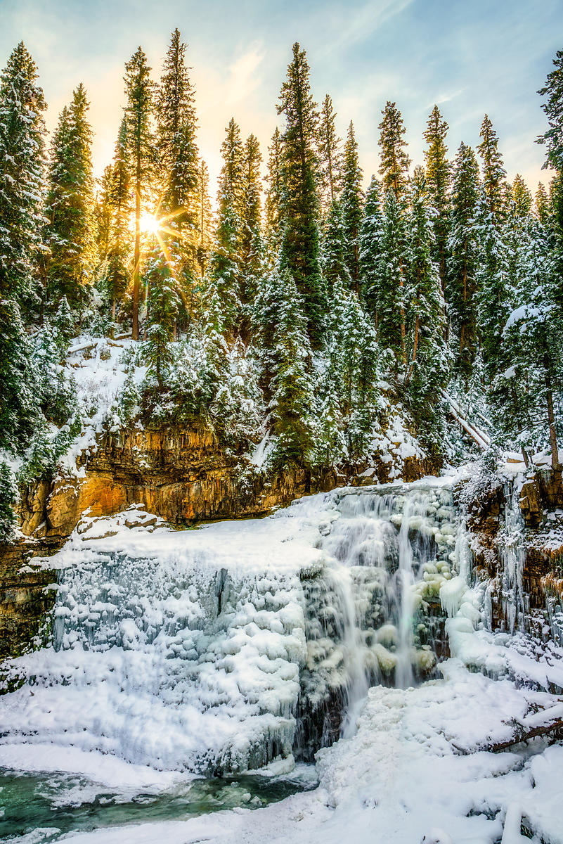 Ousel Falls Winter