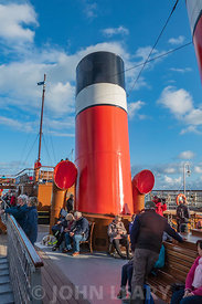 Paddle Steamer (PS) Waverley.