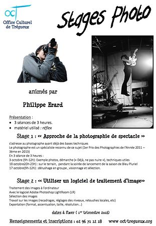 "Stage ""Photographies de spectacle"" photos"