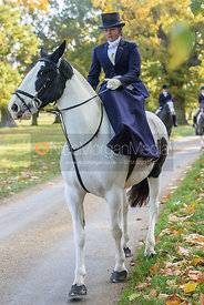 arriving at the meet - Fitzwilliam Opening Meet 2016