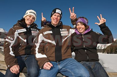 Gisin Family Members Swiss Ski Racing  photos