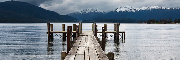View onto Lake Te Anau