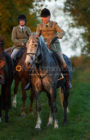 Paul Chenery - The Cottesmore Hunt at America Crossroads 17/10