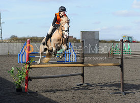 Class 5 - 100cm - Cottesmore Pony Club Eventer Trial 25/3/16