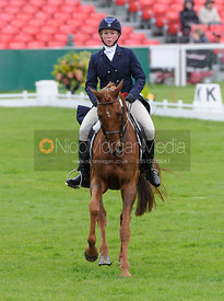 Colleen Rutledge and SHIRAZ - Dressage - Mitsubishi Motors Badminton Horse Trials 2013.