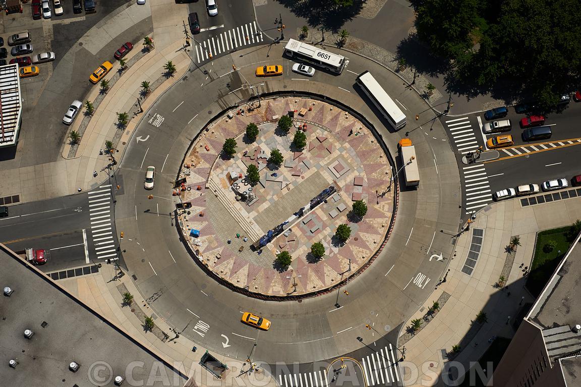 Frederick Douglas Circle Plaza